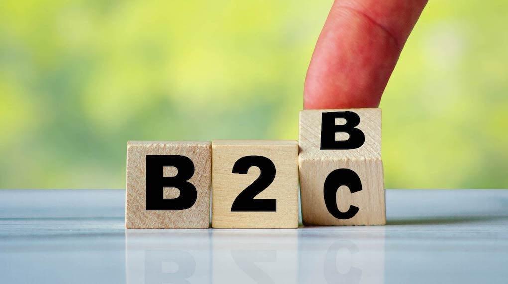 B2B to B2C dice role