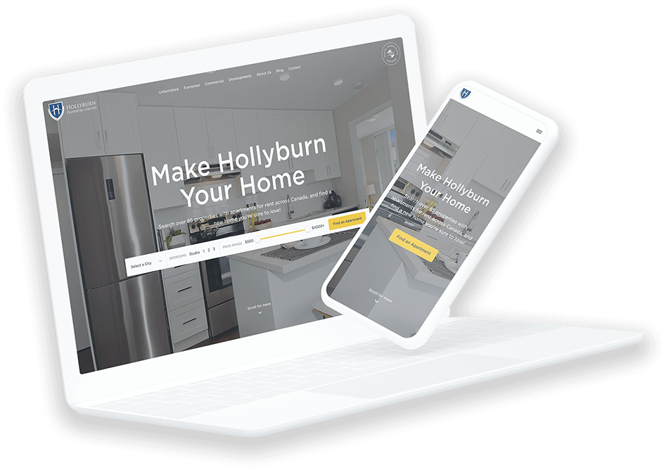 Hollyburn website on_laptop and mobile