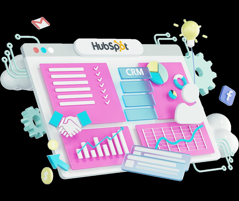 HubSpot-3d-illustrations
