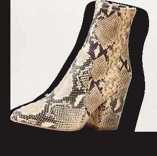Loeffler Randall boot overlay