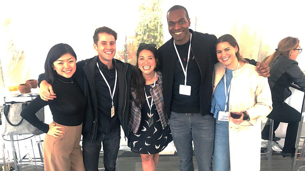 Major Tom team at the Microsoft Impact Summit