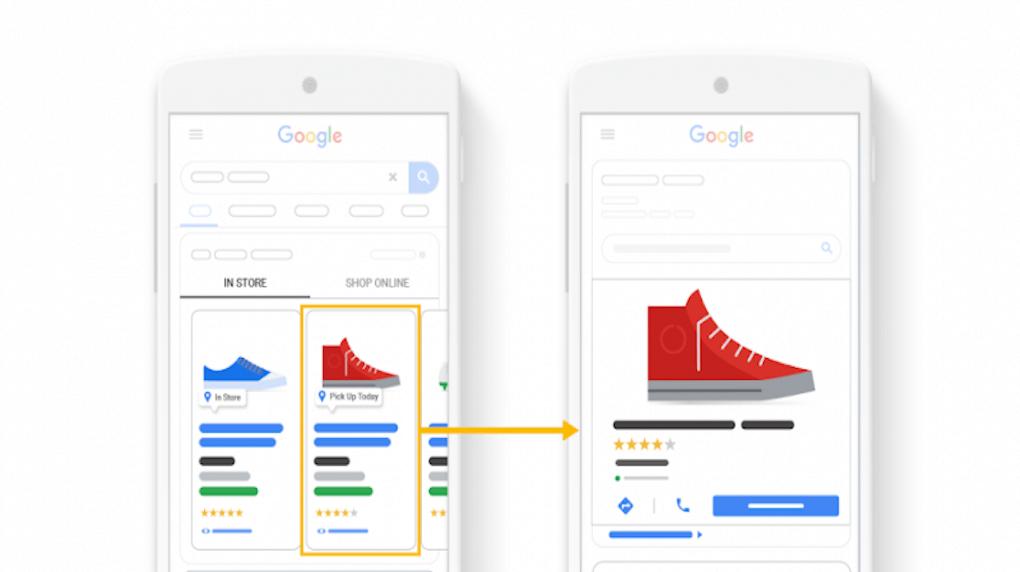 google comparison ad