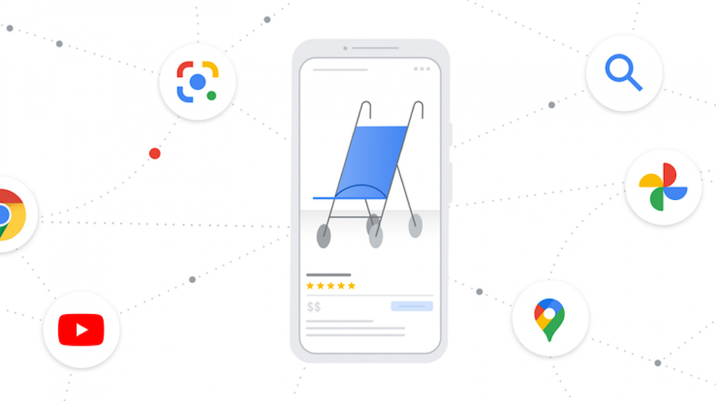 mbile shopping on google