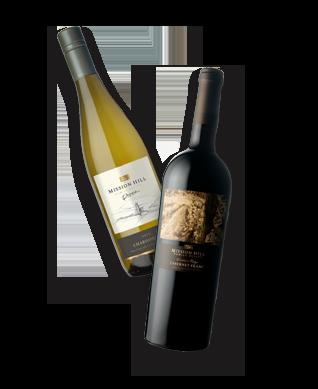 mission hill wine bottles