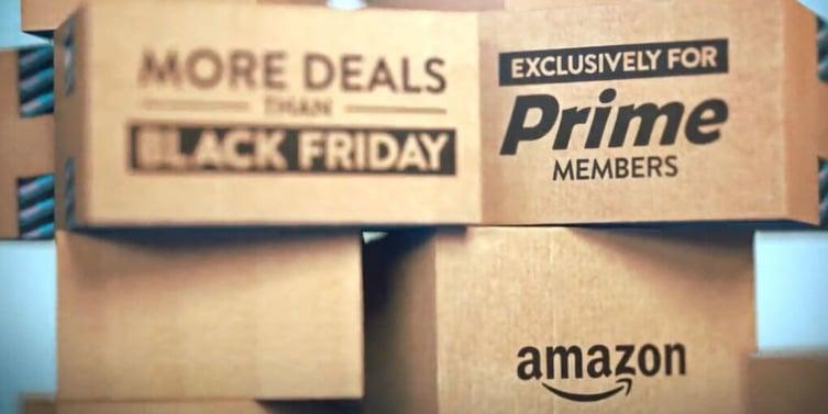 Amazon packing boxes