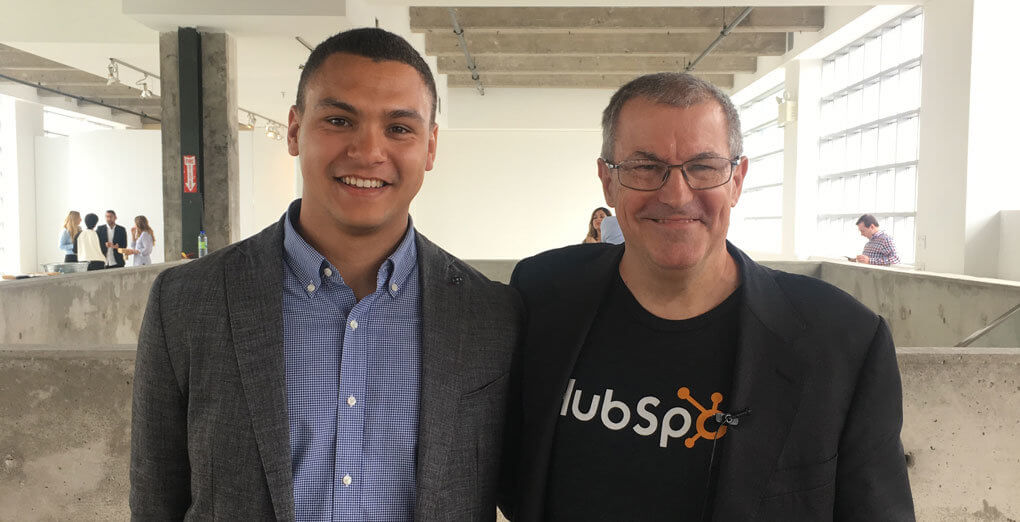 two men working at Hubspot company