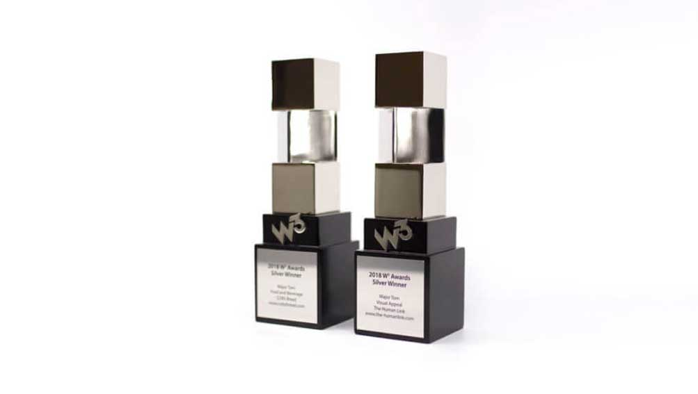 Major Tom wins big at International W3 Awards