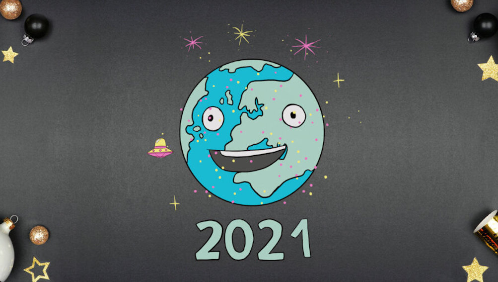 Our Happy New Year 2021 GIF Goes Viral