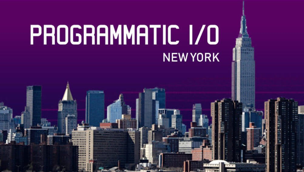 3 things we learned at Programmatic I/O 2018